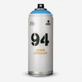 Bombe de peinture MTN 94 Bleu Liberté - 400ml, MONTANA