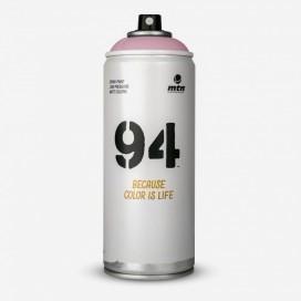 Bombe de peinture MTN 94 Rose Stéréo - 400ml, MONTANA