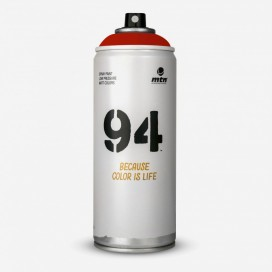 Bombe de peinture MTN 94 Rouge Vif - 400ml, MONTANA