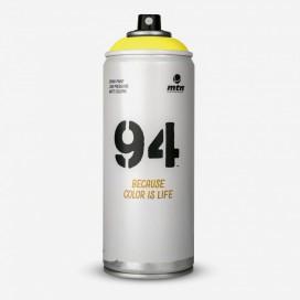Bombe de peinture MTN 94 Jaune Canari - 400ml, MONTANA