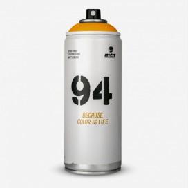 Bombe de peinture MTN 94 Orange Mars - 400ml, MONTANA