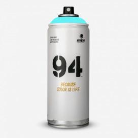 Bombe de peinture MTN 94 Bleu Cyan - 400ml, MONTANA