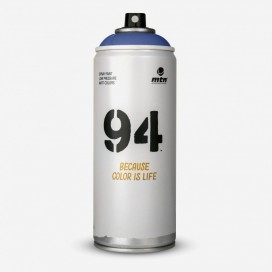 Bombe de peinture MTN 94 Bleu Babylone - 400ml, MONTANA