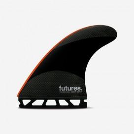 Dérives Thruster - John John FLORENCE signature Range - Techflex Neon Red - L, FUTURES.
