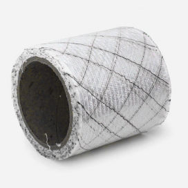 Banda de refuerzo quadri fibre y carbono, 76mm
