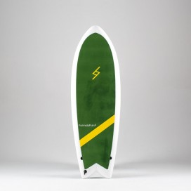 Formula Fun Soft board - 5'3'' Twinnie Green / White
