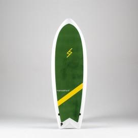 Formula Fun Soft board - 5'3'' Twinnie Green / White