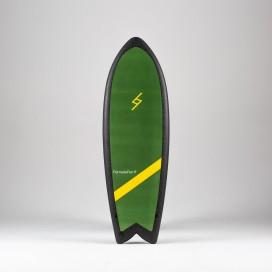 Formula Fun Soft board - 5'3'' Twinnie Green / Black