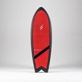 Formula Fun Soft board - 5'3'' Twinnie Red / Black
