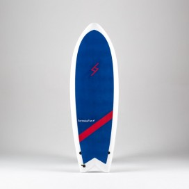 Formula Fun Soft board - 5'3'' Twinnie Navy Blue / White