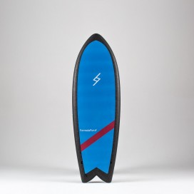 Formula Fun Soft board - 5'3'' Twinnie Sky Blue / Black