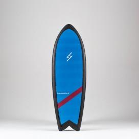 Formula Fun Soft board - 5'3'' Twinnie Sky Blue / Black