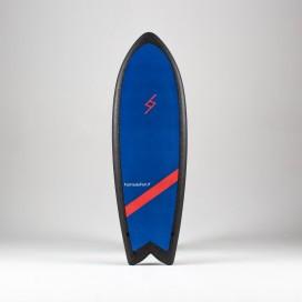 Formula Fun Soft board - 5'3'' Twinnie Navy Blue / Black