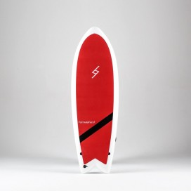 Formula Fun Soft board - 5'3'' Twinnie Red / White