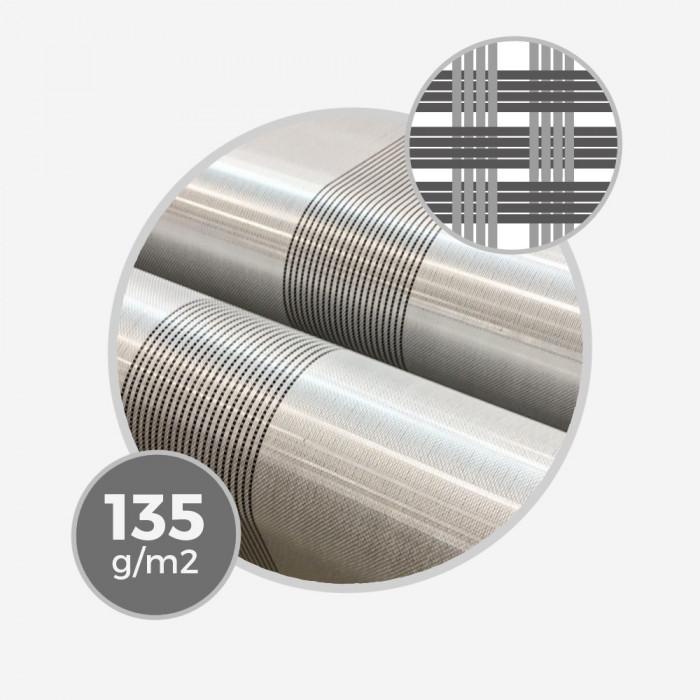 Tissu hybride fibre de verre e-glass & bande carbone centrale - 135gr/m - 4,0oz - largeur 76cm