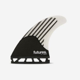 Dérives Thruster - Firewire FW2 - white / carbon, FUTURES.