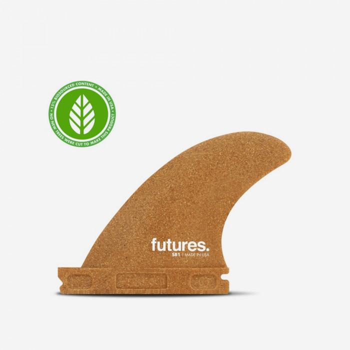 Dérives latérales pour longboard - SB1 side bites RWC Sawdust, FUTURES.