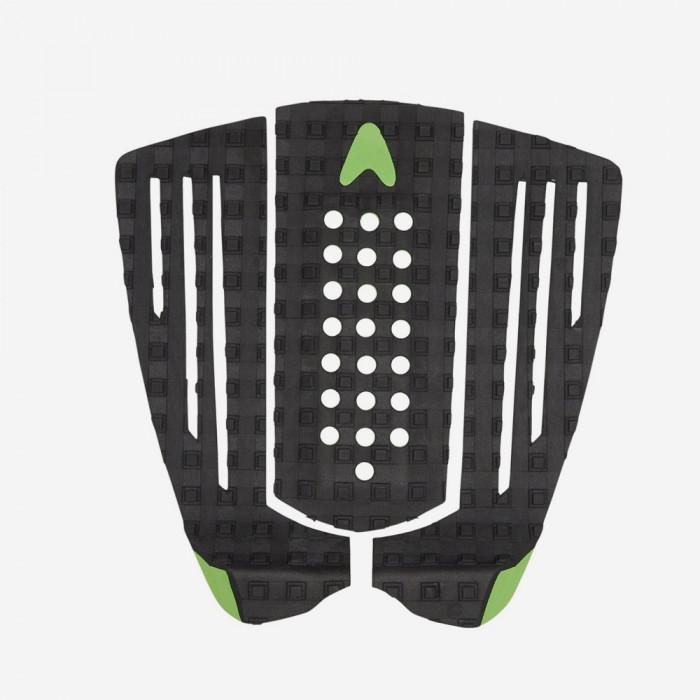 Astrodeck Gudauskas 45° to vert Kicktail - Black and Green, Astrodeck