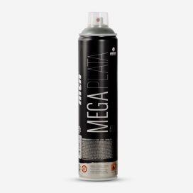 Montana Mega silver spray paint - 600ml