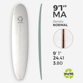 9'1'' Machine All EPS - 9'1,68'' x 24,29'' x 3,81'', 6,5mm Ply stringer, MARKO FOAM