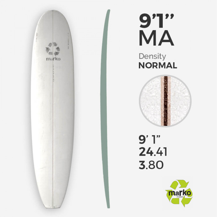 f881d1d8ab31 9 1 Eps Longboard Surfboard Blank Viral Surf For Shapers
