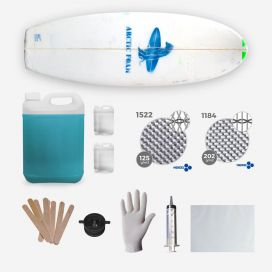 Kit para shapear, RETRO FISH Kit
