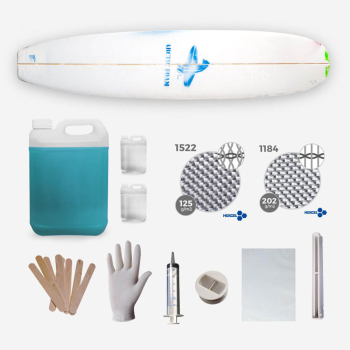 Kit de shape, LONGBOARD Kit