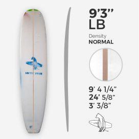 9'3'' Longboard, ARCTIC FOAM