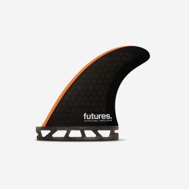 Dérives Thruster - John John FLORENCE signature Range - Techflex Neon Orange - XS, FUTURES.