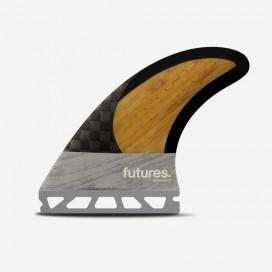 Dérives Thruster - VII Rob Machado Blackstix 3.0 Bamboo / Grey, FUTURES.