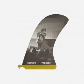 "CAPTAIN FIN CO - Longboard Pivot Fin - Sherm Eddie 10"""