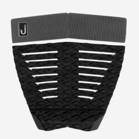 Grip surf - 4 pieces - Flat - Black and grey, JUST