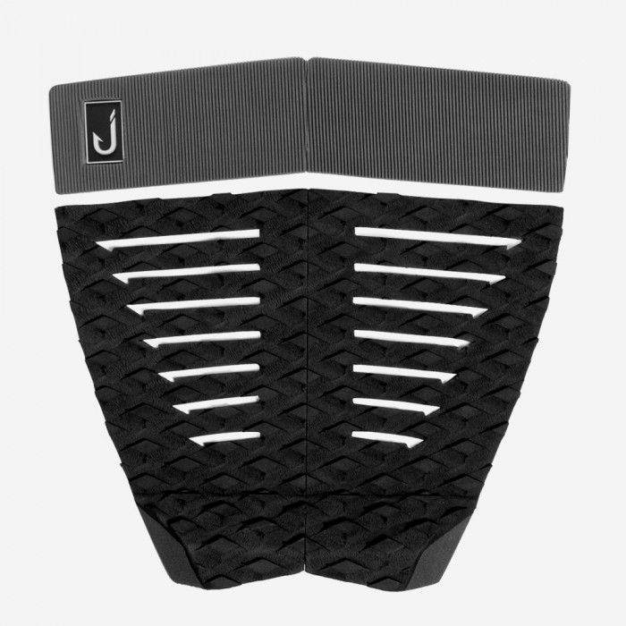 Traction surf - 4 pieces - Flat - Black and grey, JUST