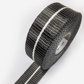 HS Full Black Carbon reinforcement rail tape, 60mm