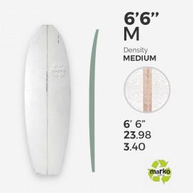 EPS 6'6'' M - Marko Foam surfboard blank - 4mm Ply - Enviro Foam 2.0