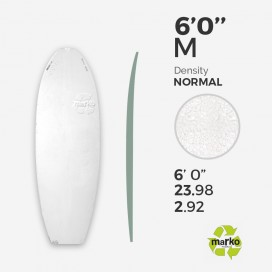 6'0'' M EPS - 6'0'' x 24'' x 2,92'' - sans latte, MARKO FOAM