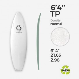 6'4'' TP EPS - 6'4'' x 21,63'' x 2,98'' - sans latte, MARKO FOAM