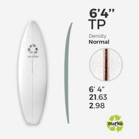 EPS 6'4'' TP  - Marko Foam surfboard blank - 6'4'' x 21,63'' x 2,98'' Ply