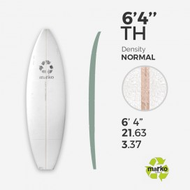 EPS 6'4'' TH - Marko Foam surfboard blank - 4mm Ply - Enviro Foam 2.0
