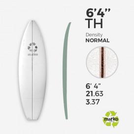 EPS 6'4'' THICK  - Marko Foam surfboard blank - 6'4'' x 21,63'' x 3,37''