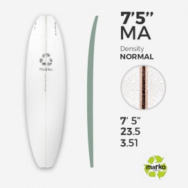 "EPS 7'5'' MACHINE ALL - Marko Foam surfboard blank - 7'5'' x 23,5"" x 3,95"""