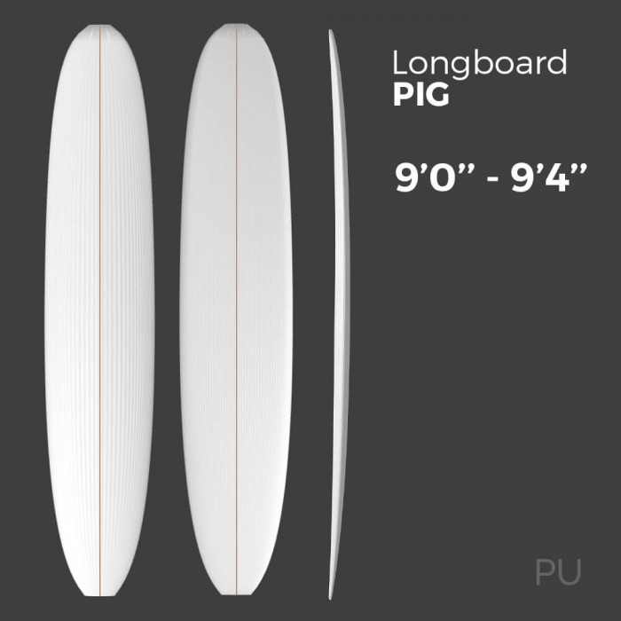 Longboard Pig - Preshape