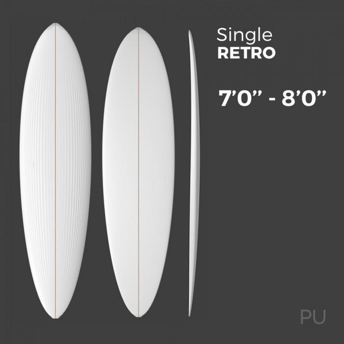 Single Retro - Preshape