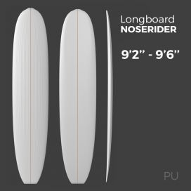 Longboard Noserider - Preshape