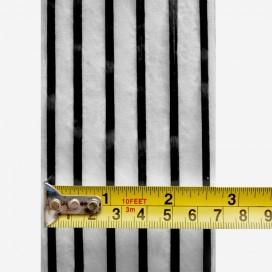 Bande de renfort web fused 6x2 strands 3K carbon, 66mm