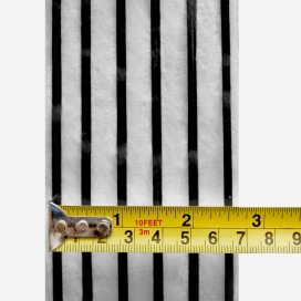 Web fused 6x2 strands 3K carbon, 66mm width reinforcement tape