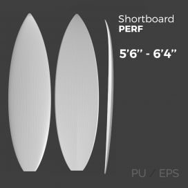 Shortboard Performance - Preshape