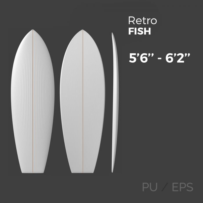 Retro Fish - Preshape