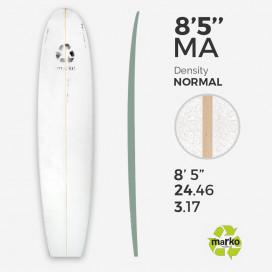 "8'5'' Thick EPS - 8'6.65"" X 24.46"" X3.8"", 1/8'' Ply stringer, MARKO FOAM"