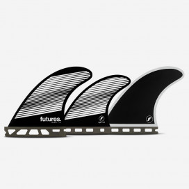 Dérives 5-fins - F4 RTM Hex white / black Legacy series, FUTURES.